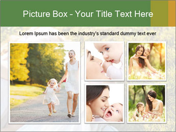 Mother And Daughter Laughting Together PowerPoint Template - Slide 19