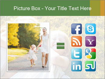 Mother And Daughter Laughting Together PowerPoint Template - Slide 21