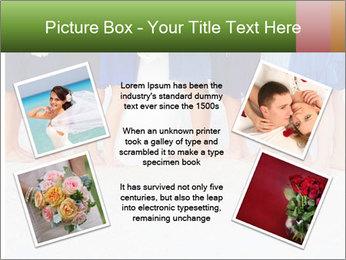 Wedding On Beach PowerPoint Template - Slide 24