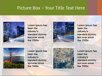 Dramatic Sunset In LA PowerPoint Template - Slide 14