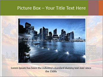 Dramatic Sunset In LA PowerPoint Template - Slide 15