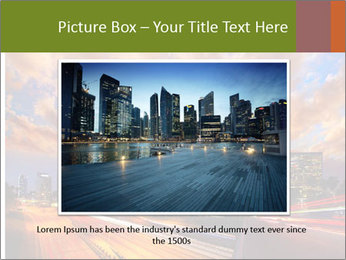 Dramatic Sunset In LA PowerPoint Template - Slide 16