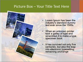Dramatic Sunset In LA PowerPoint Template - Slide 17