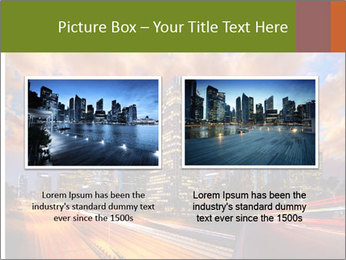 Dramatic Sunset In LA PowerPoint Template - Slide 18