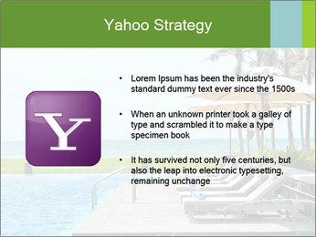 Sunbed Near Pool PowerPoint Template - Slide 11