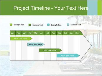 Sunbed Near Pool PowerPoint Template - Slide 25