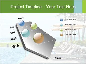 Sunbed Near Pool PowerPoint Template - Slide 26