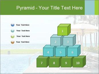 Sunbed Near Pool PowerPoint Template - Slide 31