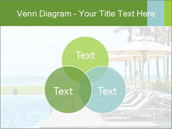 Sunbed Near Pool PowerPoint Template - Slide 33