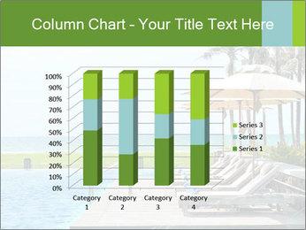 Sunbed Near Pool PowerPoint Template - Slide 50