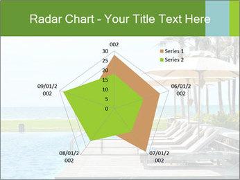 Sunbed Near Pool PowerPoint Template - Slide 51