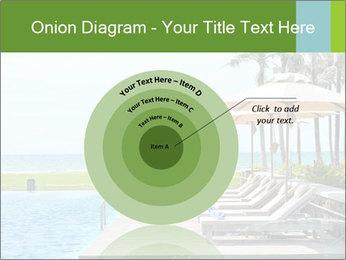 Sunbed Near Pool PowerPoint Template - Slide 61