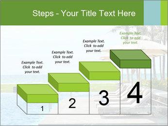 Sunbed Near Pool PowerPoint Template - Slide 64