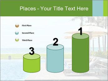 Sunbed Near Pool PowerPoint Template - Slide 65