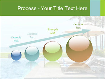 Sunbed Near Pool PowerPoint Template - Slide 87