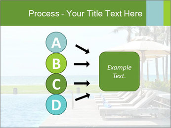 Sunbed Near Pool PowerPoint Template - Slide 94