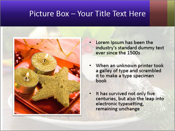 Christmas Chocolate Pudding PowerPoint Template - Slide 13