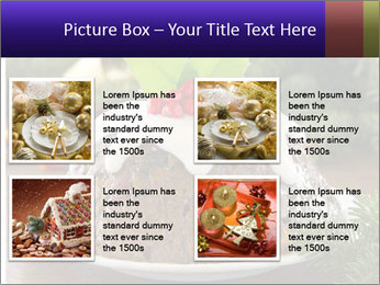 Christmas Chocolate Pudding PowerPoint Template - Slide 14