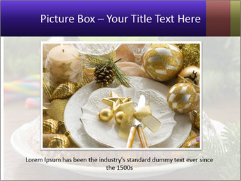 Christmas Chocolate Pudding PowerPoint Template - Slide 15