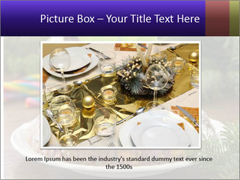 Christmas Chocolate Pudding PowerPoint Template - Slide 16