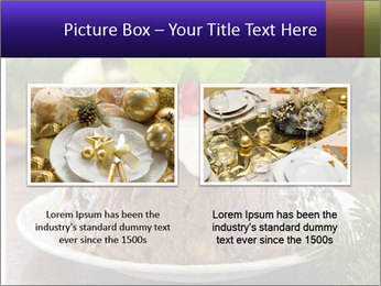 Christmas Chocolate Pudding PowerPoint Template - Slide 18