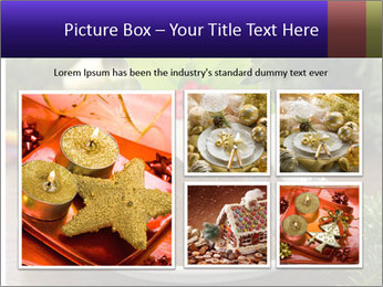 Christmas Chocolate Pudding PowerPoint Template - Slide 19