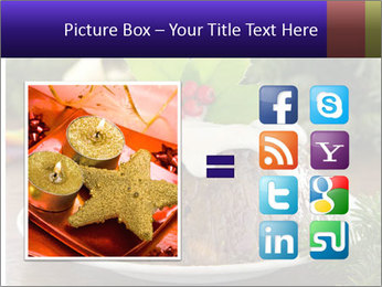 Christmas Chocolate Pudding PowerPoint Template - Slide 21