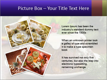Christmas Chocolate Pudding PowerPoint Template - Slide 23