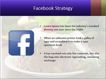 Christmas Chocolate Pudding PowerPoint Template - Slide 6