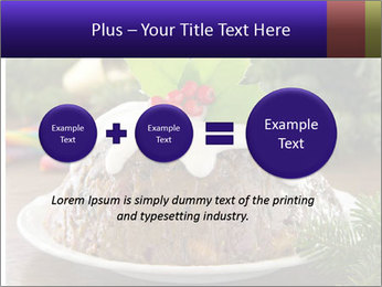 Christmas Chocolate Pudding PowerPoint Template - Slide 75