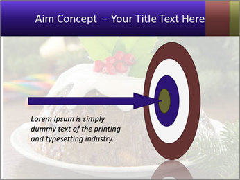 Christmas Chocolate Pudding PowerPoint Template - Slide 83