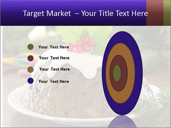 Christmas Chocolate Pudding PowerPoint Template - Slide 84
