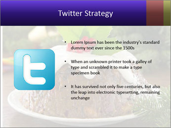 Christmas Chocolate Pudding PowerPoint Template - Slide 9
