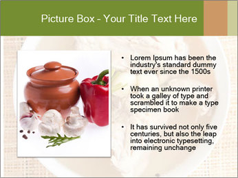 Meat Broth PowerPoint Template - Slide 13