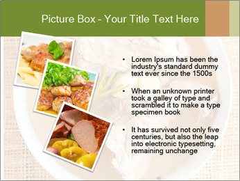 Meat Broth PowerPoint Template - Slide 17