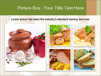 Meat Broth PowerPoint Template - Slide 19
