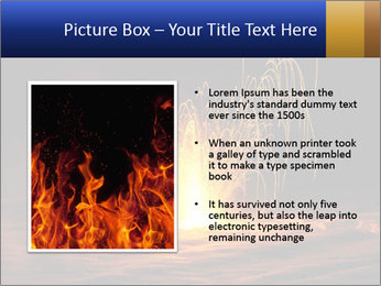 Fire Explosion PowerPoint Template - Slide 13