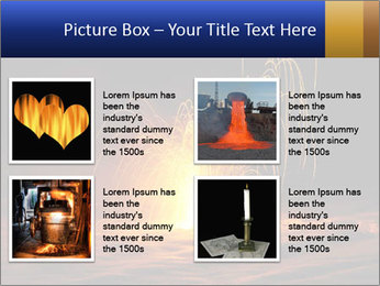 Fire Explosion PowerPoint Template - Slide 14