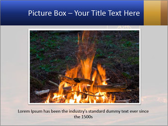 Fire Explosion PowerPoint Template - Slide 15