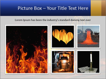 Fire Explosion PowerPoint Template - Slide 19