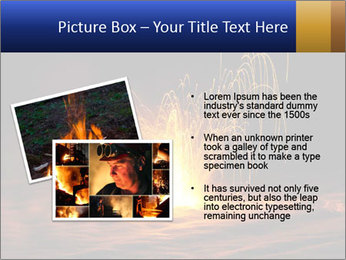 Fire Explosion PowerPoint Template - Slide 20
