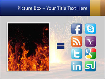 Fire Explosion PowerPoint Templates - Slide 21