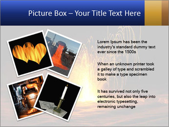 Fire Explosion PowerPoint Templates - Slide 23