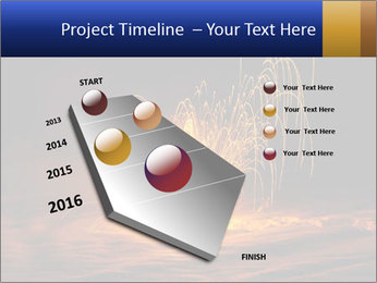 Fire Explosion PowerPoint Templates - Slide 26