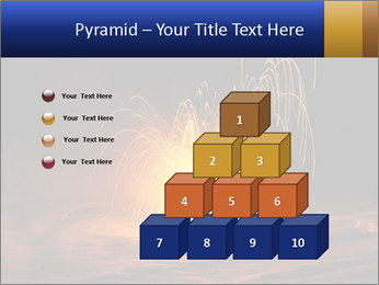 Fire Explosion PowerPoint Templates - Slide 31