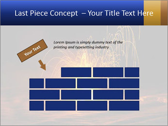 Fire Explosion PowerPoint Template - Slide 46