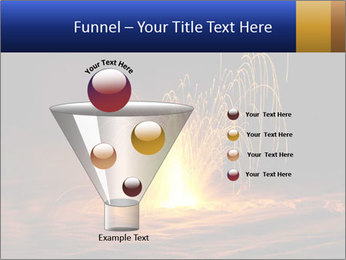 Fire Explosion PowerPoint Template - Slide 63