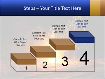 Fire Explosion PowerPoint Template - Slide 64