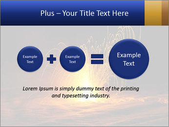 Fire Explosion PowerPoint Templates - Slide 75
