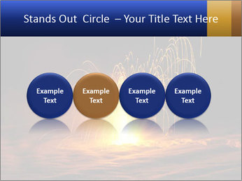 Fire Explosion PowerPoint Template - Slide 76
